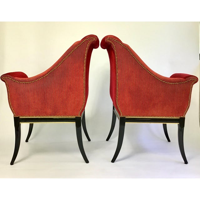 Karges Parler Deux Chairs - A Pair For Sale In Charleston - Image 6 of 12