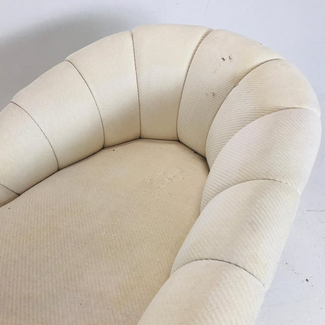 Mid-Century Modern MCM Channel Chaise by Directional For Sale - Image 3 of 12