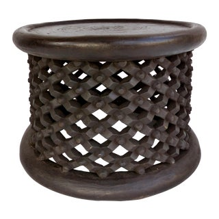 Bamileke Spider Side Table or Stool For Sale