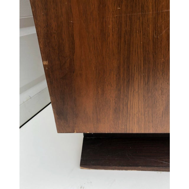 Tall Mid-Century Witco Style Armoire by United Furniture For Sale - Image 12 of 13