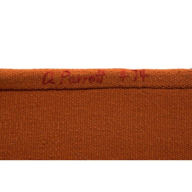 Fiber Alice Kagawa Parrott Santa Fe Wall Weaving For Sale - Image 7 of 8