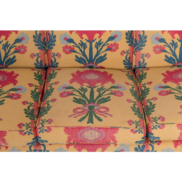 1980s Vintage Patterned Sofa For Sale In Greensboro - Image 6 of 8