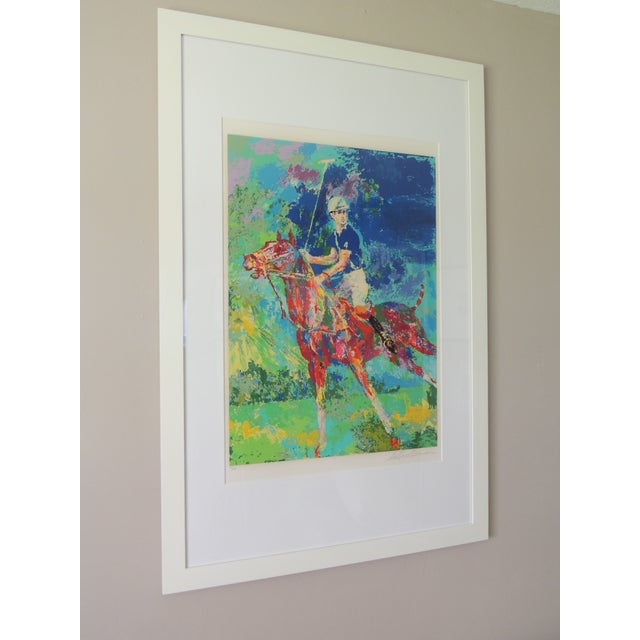 Artist LeRoy Neiman Prince Charles at Winsor American Artist Medium: Serigraph, signed and numbered in pencil. Series: 34...