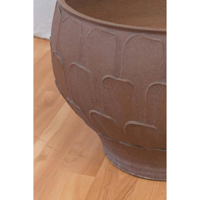 """David Cressey for Architectural Pottery """"Thumb Print"""" Planter For Sale - Image 5 of 6"""
