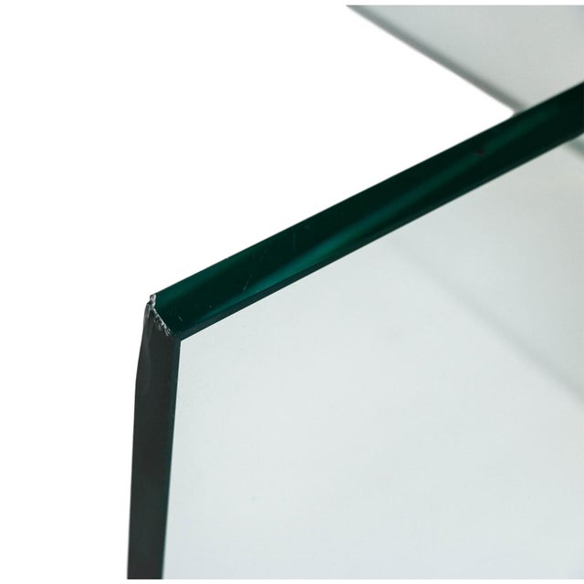 Mid Century Leon Rosen for Pace Glass Coffee Table - Image 10 of 10