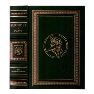 """1976 """"Euripides: Nine Plays"""" Collectible Book For Sale"""