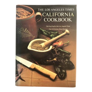 """1990 """"The Los Angeles Times California Cookbook"""" Revised Edition Book For Sale"""