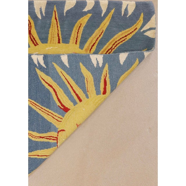 2010s Solana, the Sun Rug, 3' X 3' For Sale - Image 5 of 8