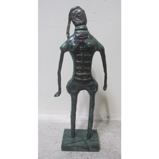 1970s Vintage Rufino Tamayo Bronze Nude Woman Sculpture Mexican Modernism For Sale In San Diego - Image 6 of 6