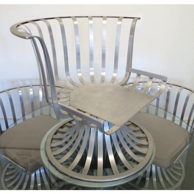 Mid-Century Modern Russell Woodard Aluminum Patio Furniture - A Set - Image 8 of 9