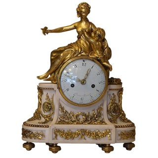 18th Century Clock by Jean-Baptiste-André Furet For Sale