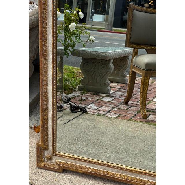 18th C Style Quatrain for Dessin Fournir Giltwood Neoclassical Mirror