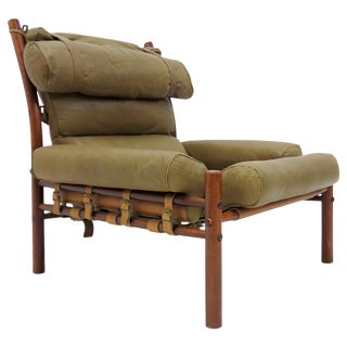 1960s Vintage Inca by Arne Norell Easy Chair For Sale