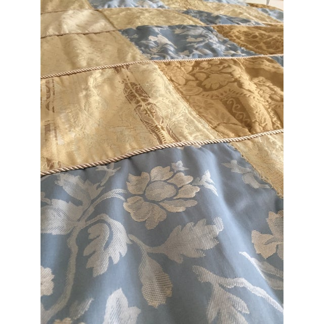 This Handmade king size quilt is made from vintage and antique fabrics. Perfect as a wall hanging or an added layer of...