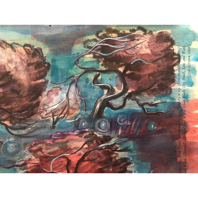 Modern Landscape Painting by William Palmer, 1947 For Sale - Image 6 of 8