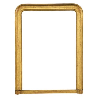 Louis Philippe Gilt Wood Mirror