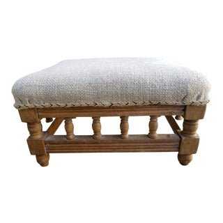 Swedish Gustavian Country Footstool