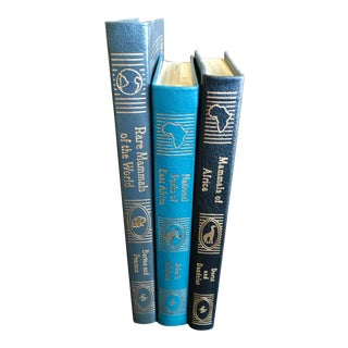 Vintage Collector's Edition Field Guides of the World Books - Set of 3 For Sale