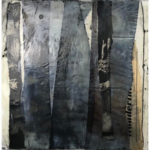 Sixteen 10x10x1,5 panels. Encaustic (bees wax & damar resin), water media, ink, paper, vintage finds (1950 LIFE magazine),...