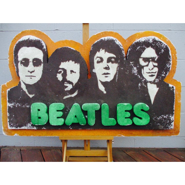 Beatles Authentic Capitol Record Promo Display 1970s Wall Decor Record Vinyl Collectors Beatles Fans - Image 6 of 8