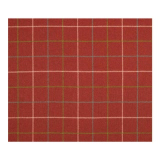 Nobilis Engadine Plaid Wool Designer Fabric by the Yard For Sale
