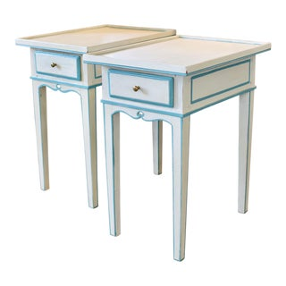 Antique Swedish Side Tables - a Pair For Sale