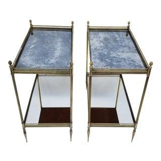 Maison Jansen Side Tables - a Pair For Sale