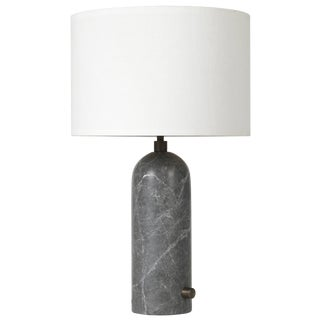 Gravity' Grey Marble Table Lamp For Sale