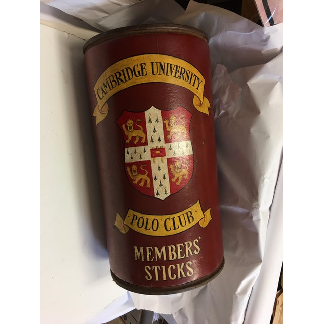 Cambridge University Polo Club Members Sticks Can - Image 2 of 7