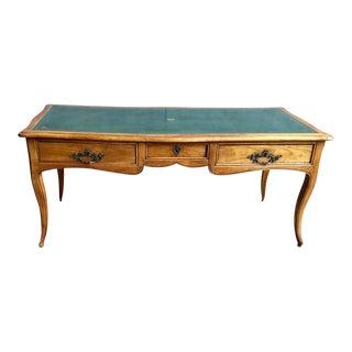 19th Century Louis XV Provincial Bureau Plat For Sale