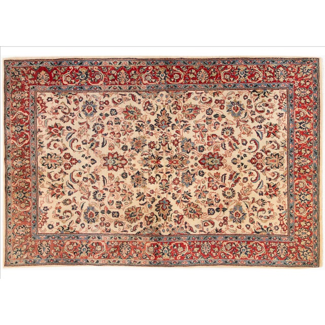 "Apadana Persian Rug - 6'1"" X 9'3"" For Sale"