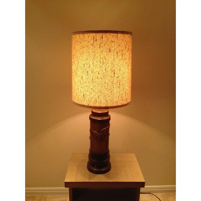 1970s Ceramic Eagle Table Lamp - Image 5 of 8
