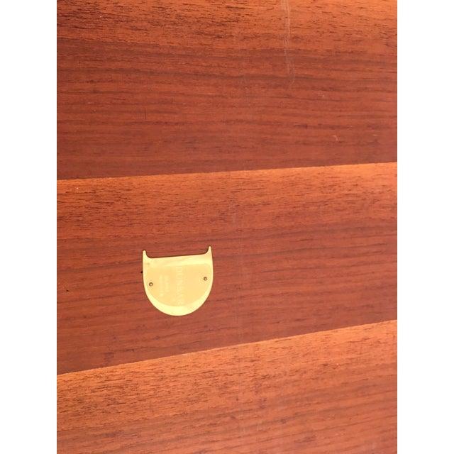 Edward Wormley Walnut Side Table - Image 7 of 11