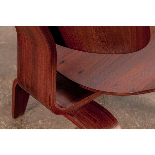 Rare Eames Pre-Production Rosewood LCW - Image 6 of 11