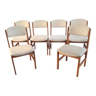 Benny Linden Dining Chairs Set of 6 For Sale