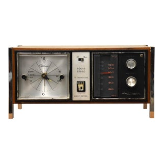 Telechron Solid State Vintage Radio For Sale