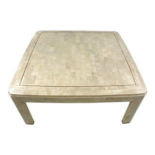 Mid Century Tessellated Coffee Table by Maitland Smith For Sale