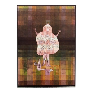 1958 Paul Klee Ventriloquist Vintage English Lithograph For Sale