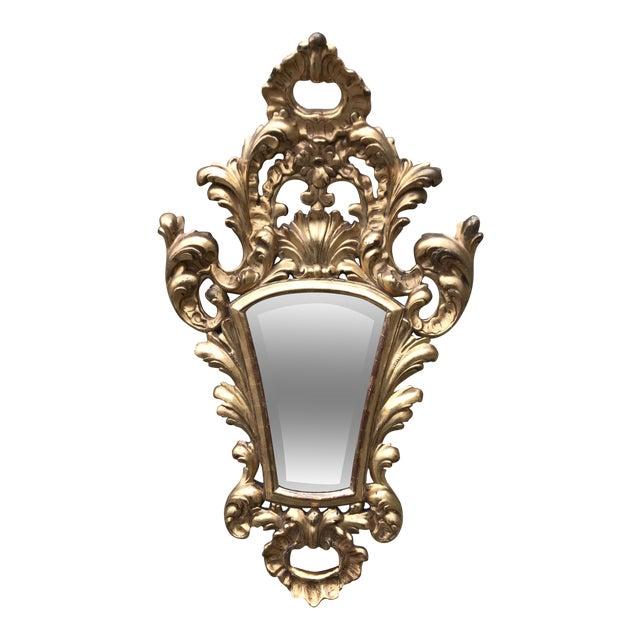 Italian Gilt Wood Mirror - Image 1 of 7