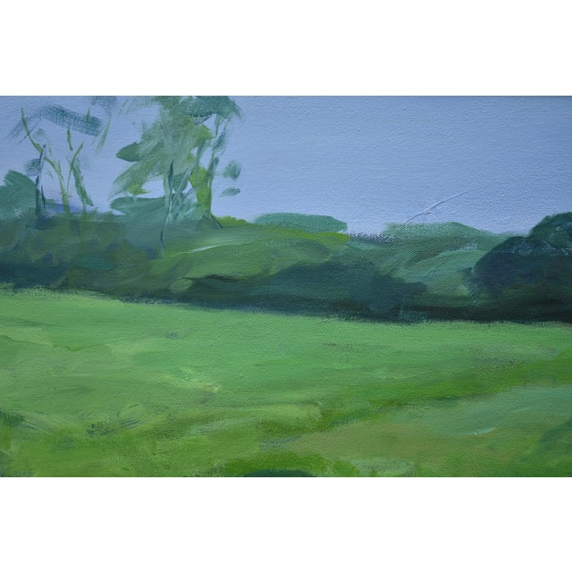 """""""Ruts in the Field to the Chicken Coop"""" Painting For Sale In Providence - Image 6 of 12"""