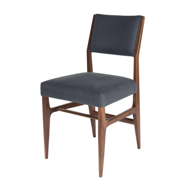 Customizable Maze Walnut Dining Chair - Image 2 of 5