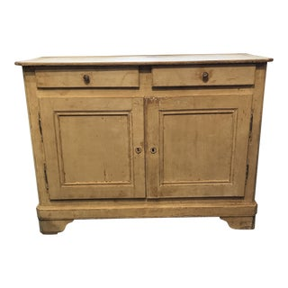 French Cream Painted Buffet For Sale