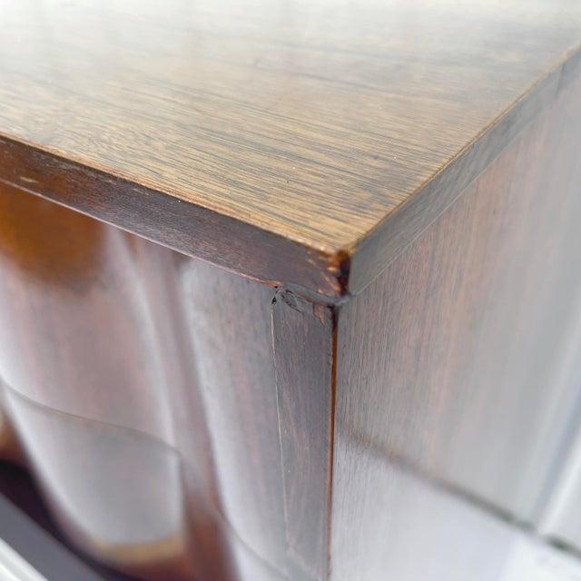 Mid-Century Modern Highboy Dresser For Sale - Image 9 of 13