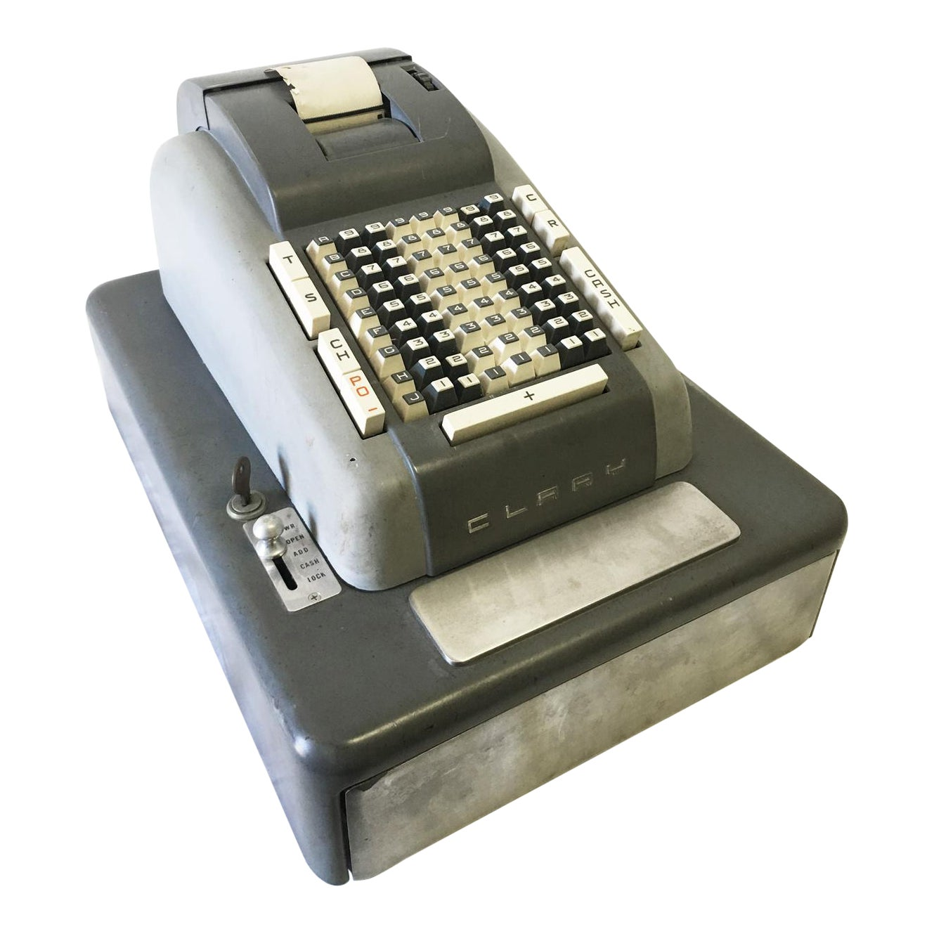 1950s Clary Electric Adding Machine Cash Register Chairish
