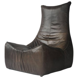 1970s Leather Chair by Gerard Van Den Berg for Montis For Sale