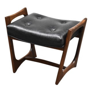Adrian Pearsall Vanity Stool or Ottoman For Sale