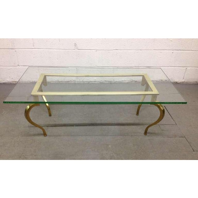 French French Bronze Coffee Table by Maison Ramsay For Sale - Image 3 of 6