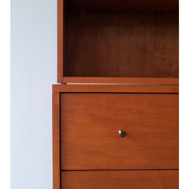 Mid-Century Modern Paul McCobb for Planner Group Display Bookcase With Drawers For Sale In Seattle - Image 6 of 12
