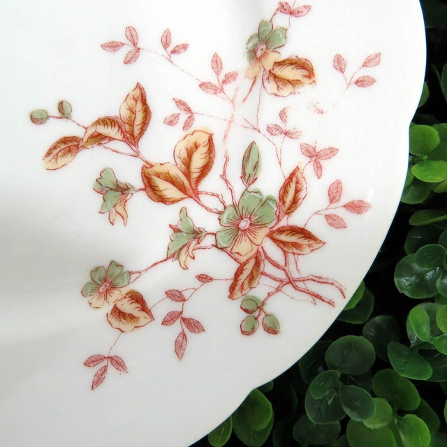 Mismatched Vintage Hand Painted Plates - Set of 4 - Image 9 of 11