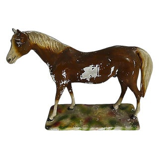 Chalkware Horse For Sale